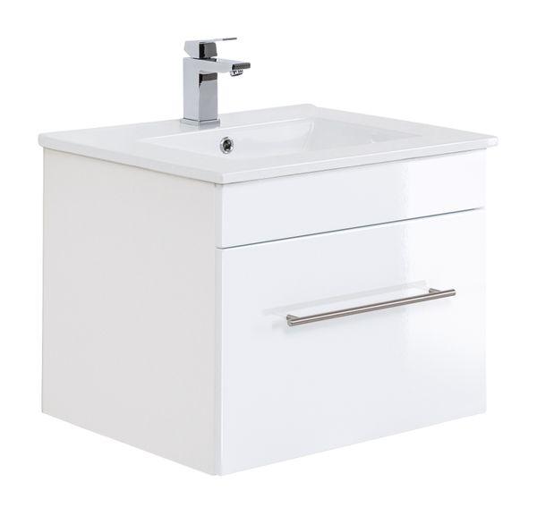 """Badmöbelset  """"Basic"""" 60cm, mit Waschtisch, Unterschrank"""