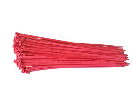 100 x Cable tie 4,8x300mms, different colours – image 2