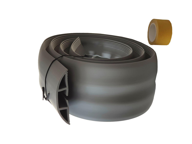 Fußboden Kabelkanal Weiß ~ 1 83m flexibler fussboden kabelkanal selbstklebend kabel & montage
