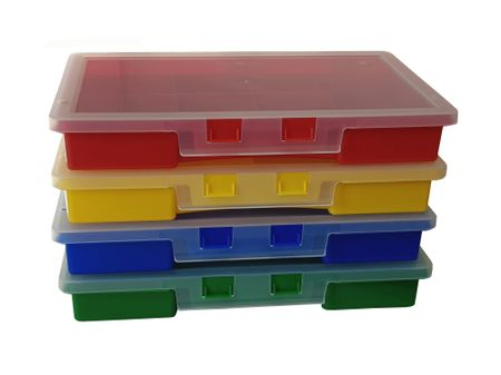 Sorting Box / Assortment Box yellow 10 compartments 275x180x41mms – image 3
