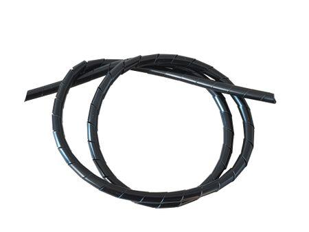 10m Spiralschlauch 1,5-10mm natur oder schwarz – Bild 1