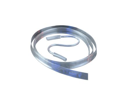 1,2m Heat-shrinkable Tubing PVDF 1,6 mms HIGH Temp Quality