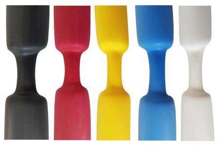 1,2m Schrumpfschlauch mit Kleber 12,7mm (3:1) wasserdicht verschiedene Farben