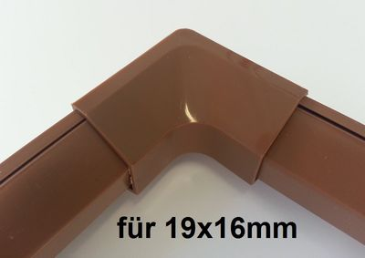 "Wire duct 19x16mms Connector  """"inside corner"""" – image 1"