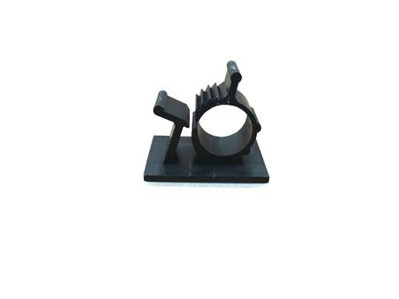Self-adhesive Cable Clamp 10-12,5mms, black, 5 pieces – image 1