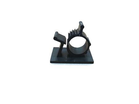 5 x Rasterschelle 16,5-20mm, schwarz selbstklebend – Bild 1