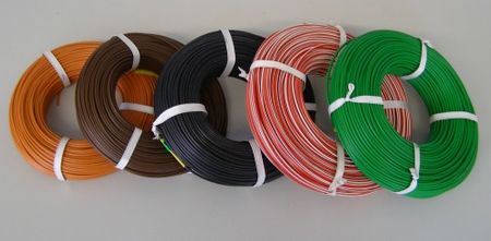 PVC Automotive Wire DIN ISO 6722 FLY 0,75mm²
