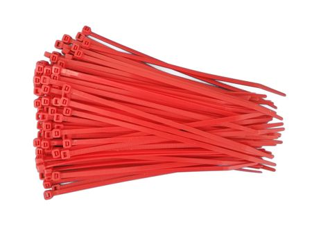 100 x Cable tie 3,6x140mms, different colours – image 3