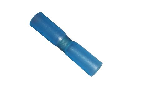 10 x Schrumpf Löt Verbinder 1,0-2,0mm² blau wasserdicht
