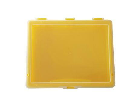 Sorting Box / Assortment Box yellow 1 compartment 180x150x36mms – image 2