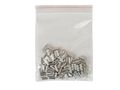 100 x Cored end terminal not insulated 1,5qmms length:  8mms