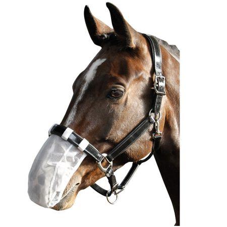 Fliegenschutznetz Nasennetz Nasenschutz Hilfe beim Headshaking Syndrom Farbwahl – Bild 3