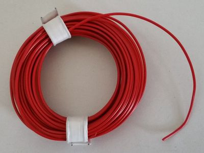 Coloured Copper wire with plastic insulation, single-wire, 10 meters – image 5