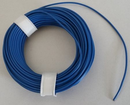 Coloured Copper wire with plastic insulation, single-wire, 10 meters – image 2