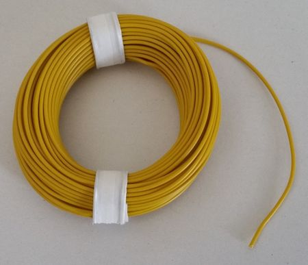 Coloured Copper wire with plastic insulation, single-wire, 10 meters – image 3