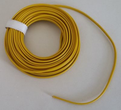 5 meter Coloured Twin copper wire with plastic insulation, double-core wire – image 2