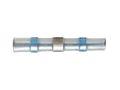 10 x Schrumpf Löt Verbinder blau 1,0-2,0mm² m PVDF Mantel