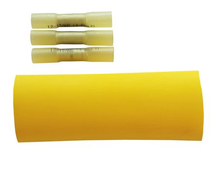 Cable Repairing Kit for cables 3x4,0mm² yellow water-proof 4-part – image 1