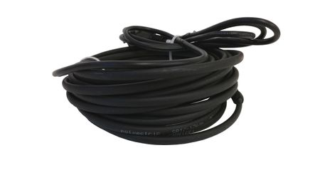 Heating cable self-regulating, 19 m, max. power 17W/m