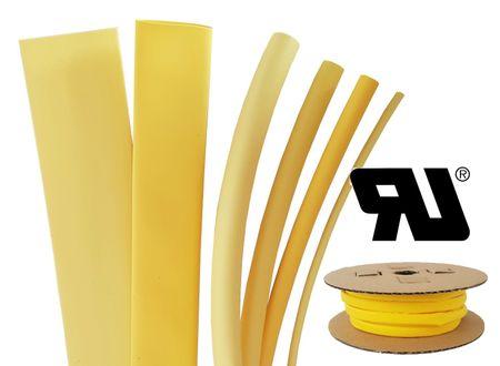 75m Heat-shrinkable tubing BEC2 6,0 mms coloured Polyolefin 125°C (2:1) UL – image 5