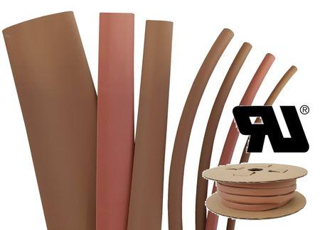 75m Heat-shrinkable tubing BEC2 12,0 mms coloured Polyolefin 125°C (2:1) UL – image 4