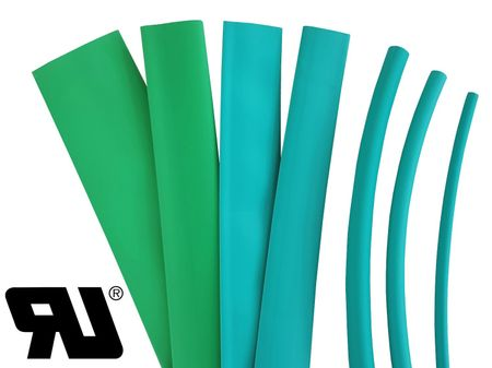2m Heat-shrinkable tubing 6,0mms 2:1 Polyolefin 125°C UL various colours – image 7