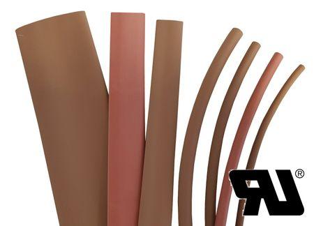 2m Schrumpfschlauch 9,0mm 2:1 Polyolefin 125°C farbig m. UL – Bild 4