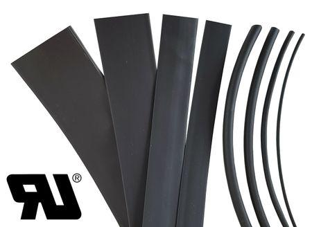 1m Heat-shrinkable tubing 25,0mms 2:1 Polyolefin 125°C UL – image 3