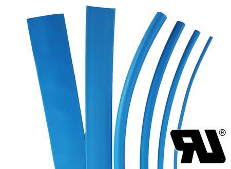 1m Heat-shrinkable tubing 38,1mms 2:1 Polyolefin 125°C UL black – image 2