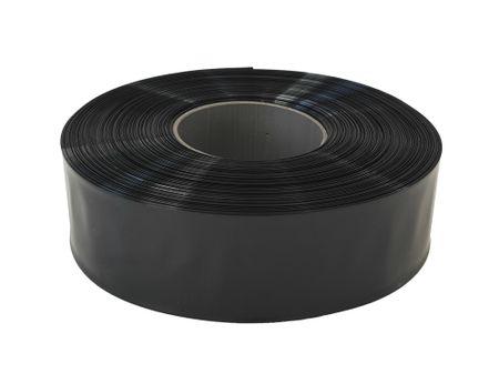 100m PVC Schrumpfschlauch dünnwandig 60mm Flachmaß = 38mm Ø 80° (2:1) – Bild 5
