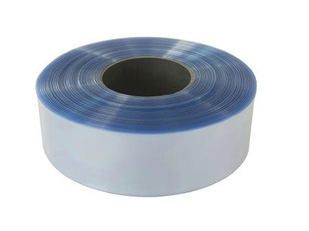 100m PVC Schrumpfschlauch dünnwandig 60mm Flachmaß = 38mm Ø 80° (2:1) – Bild 6