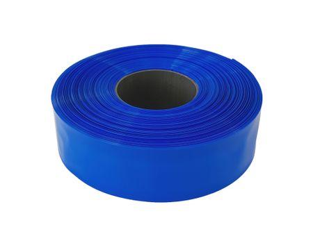 100m PVC Schrumpfschlauch dünnwandig 80mm Flachmaß = 50,9mm Ø 80° (2:1) – Bild 3