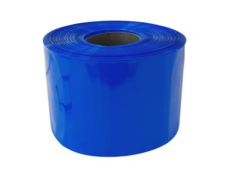 100m PVC Schrumpfschlauch dünnwandig 150mm Flachmaß = 95mm Ø 80° (2:1) – Bild 2