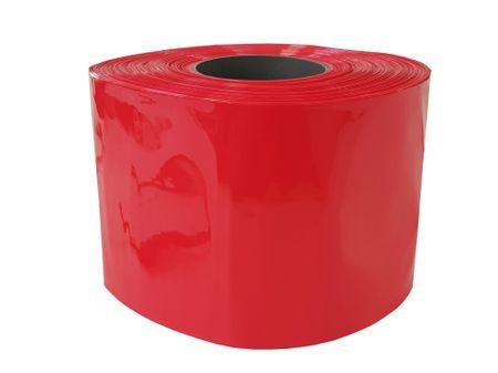 100m PVC Schrumpfschlauch dünnwandig 170mm Flachmaß = 108mm Ø 80° (2:1) – Bild 3