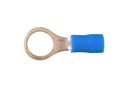 10 x Insulated ring terminal 1,5-2,5mm² 8,5 blue