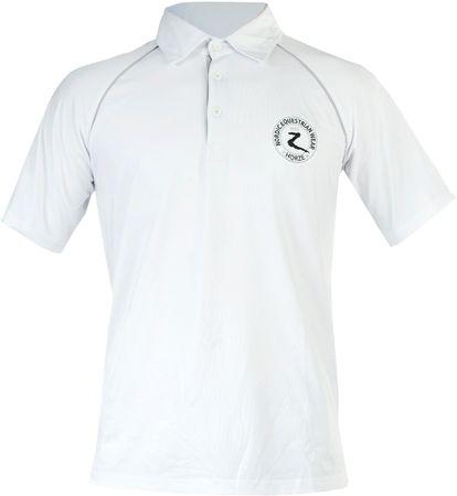 AKTION Unisex Qualitäts Funktionsshirt T-Shirt Reitshirt Weiss Größe XL – Bild 1