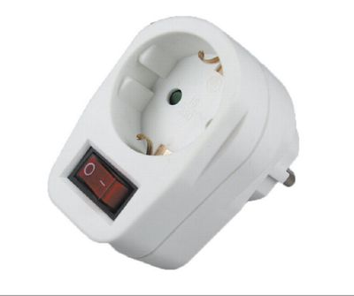 Power Socket Switch 230V/3500W - turn off stand-by electricity