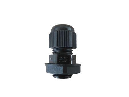 Kabelverschraubung 3tlg PG7 schwarz für Kabel 3,5-6 mm – Bild 1
