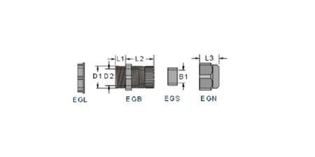 Kabelverschraubung 3tlg PG9 schwarz für Kabel 4-8 mm – Bild 4