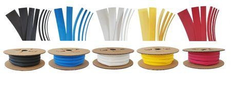 75m Heat-shrinkable tubing BEC3 4,5mms 135°C (3:1) UL/CSA – image 1