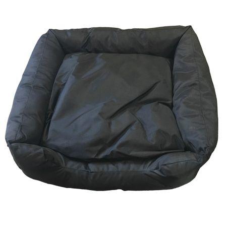 AKTION Haustierbedarf Hunde Betten Korb Wasserabweisend Schwarz Auswahl – Bild 1