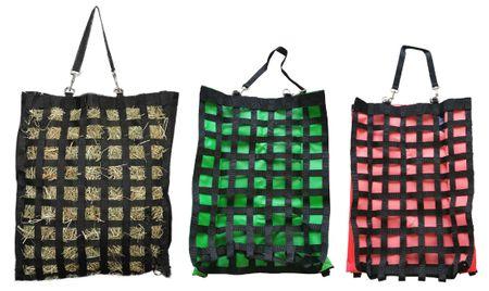 Slow Feeder Gitter Heusack groß aus starken 600D Nylon Farbauswahl – Bild 1