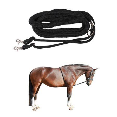 AKTION Pferd Longierzubehör Longiersystem Longierhilfe Schwarz – Bild 1