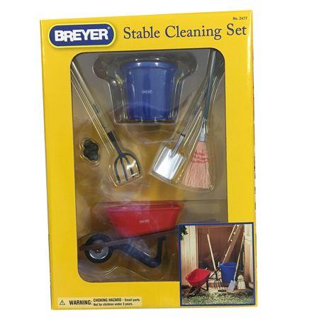 AKTION Breyer Traditional Stall Zubehör Reinigungs Set (6 teilig) – Bild 1