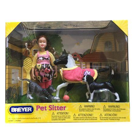 AKTION Breyer Classics Geschenke-Set Tier Sitter (8-teilig) – Bild 1