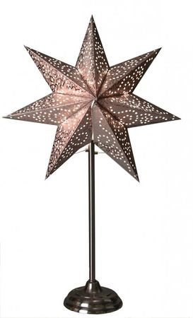Standard Lamp Star colour silver/anthracite 55 cms