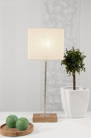 Standard Lamp Combi Lamp Star and Lampshade colour white – image 3