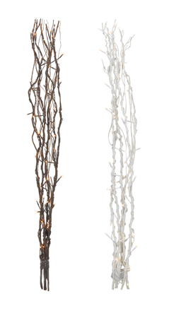 Willow Branches Deco Shrub LED Willow decoration 60 LEDs warm-white 115 cms, colour selection – image 1