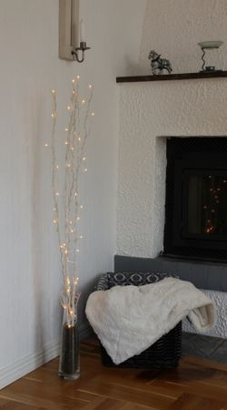 Willow Branches Deco Shrub LED Willow decoration 60 LEDs warm-white 115 cms, colour selection – image 5
