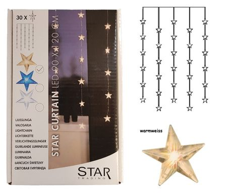 SALE!! LED Light Curtain Star Curtain 30-part 90cms x 120cms – image 1